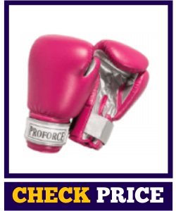 Pro-Force Leatherette Boxing Gloves