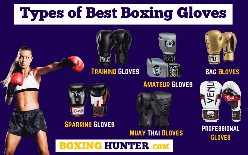 Types of Best Boxing Gloves